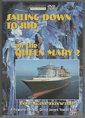 SAILING DOWN TO RIO FOR CARNAVAL! on the QUEEN MARY 2 - DVD