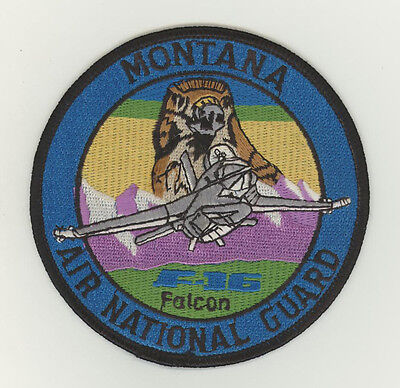 USAF patch Aufnäher 186 Fighter Squadron F16C Great Falls IAP