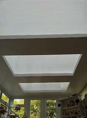 Conservatory roof insulated ceiling