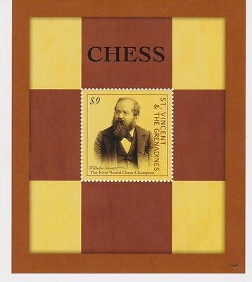 St Vincent - Chess, 2013 - S/S MNH