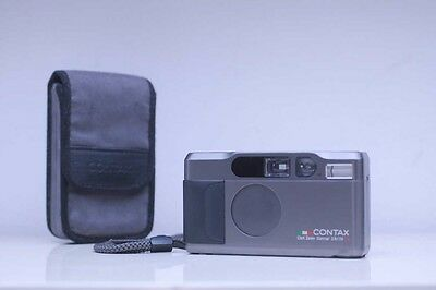 Contax T2 35mm Titanium with Zeiss Sonnar 38mm f2,8 Point and Shot camera