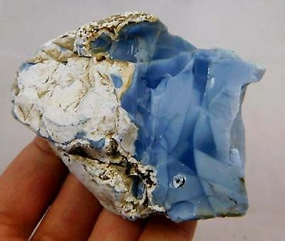 805 Cts. Very Large Rare 100% Natural Blue Opal Rough Loose Gem