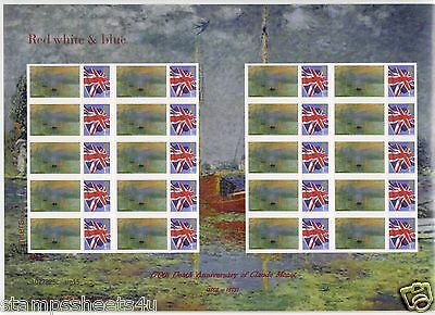 TSL194/A88a 170th Death of CLAUDE MONET 2010 *RARE* SMILERS stamps sheet