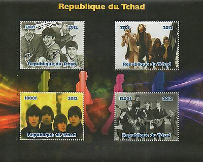 The Beatles 2012 Mint Stamp Sheet