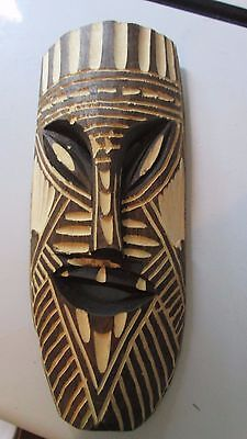 African Art    Wood Wooden Carved Mask