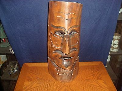 African Tribal Wall Mask 17X 7