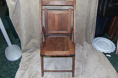 Youth Folding Wood Chair