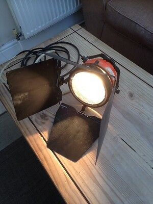 Vintage Lanebeam 800 Quartz Color Stage Light With Barn Doors