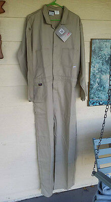 NEW Flame Resistant Coveralls  L LARGE 42/44 R Westex Indura Long Sleeve STANCO