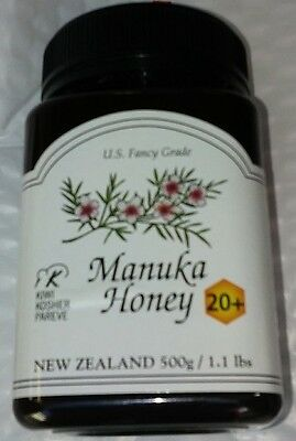 Pacific Resources Manuka Honey 20+ 1.1 POUNDS / 500g