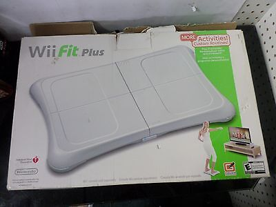 New Nintendo Wii Fit Plus Balance Board And Game