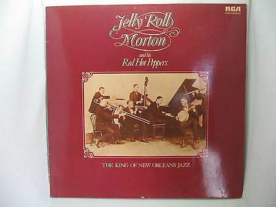 The King of New Orleans Jazz, Jelly Roll Morton, Vinyl Record LP