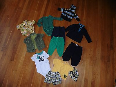 Lot of boys clothes - 3-12 months