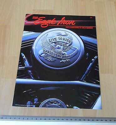 Harley Davidson Eagle Iron Parts & Accessories Catalogue 1990