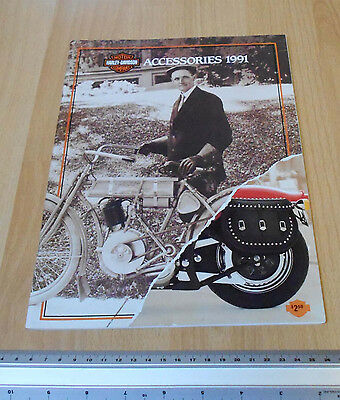 Harley Davidson Accessories Catalogue 1991