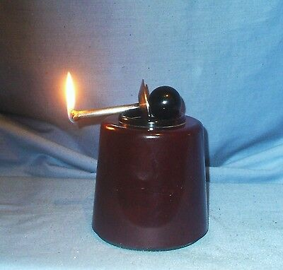 Vintage Bakelite 'Flintless' Table lighter