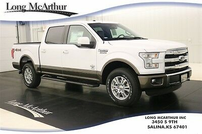 2016 Ford F-150 KING RANCH 4X4 SUPERCREW NAV MOONROOF MSRP $58390 4WD 4 DOOR NAVIGATION LEATHER SUNROOF REMOTE START REAR VIEW CAMERA SYNC 3