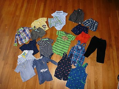 Lot of boys clothes 18-months