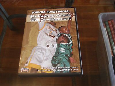 Kevin Eastman:Six Keys To Quality Skill Development Championship Productions DVD