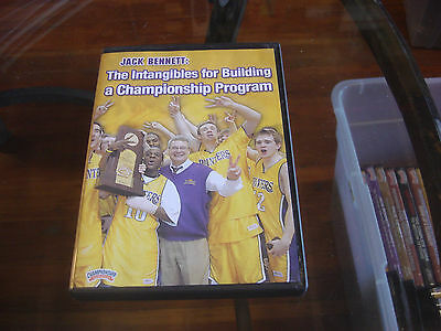 Jack Bennett The Intangibles for Building a Championship Production Program DVD