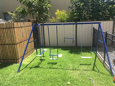 KIDS OUTDOOR Aluminium 4 Piece SWING SET