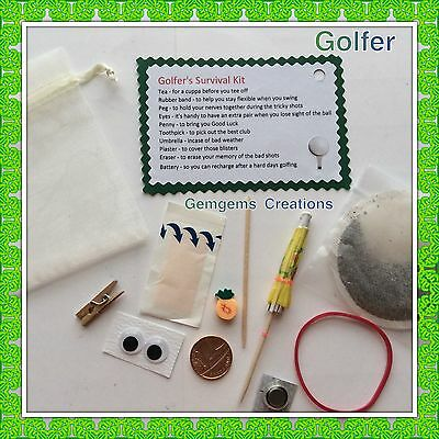 Golfer's Survival Kit - Novelty gift