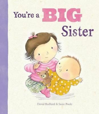 You're a Big Sister by Parragon Books Ltd Hardcover Book