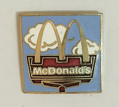McDonalds Pin.....McDonald's Arches in the blue sky......