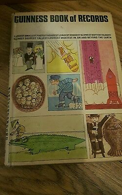 Guiness Book of Records 1968 15th edition with dust cover rare.