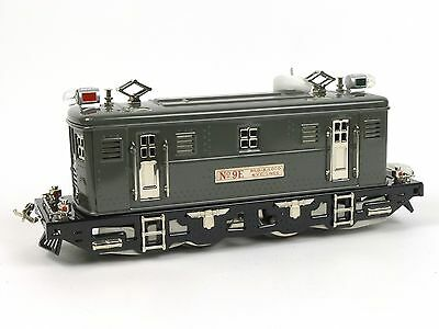 MTH Tinplate NYC Lines No 9E Electric Locomotive Engine Standard Gauge Trains