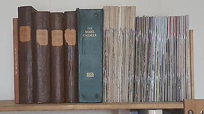 Large Collection of The Model Engineer 1926-1982. Bound & Magazines