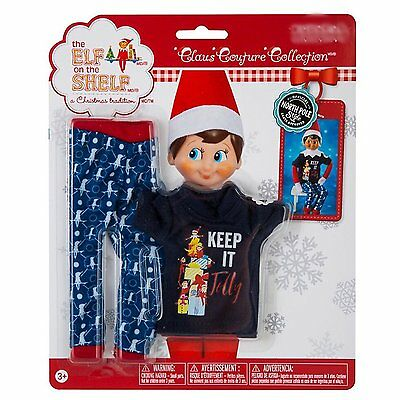 New The Elf On The Shelf Claus Couture Clothes Jolly Jammies Pajama Set