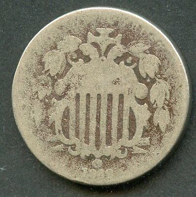 United States 1869 Shield Nickel  You Do The Grading Have Fun