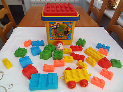 """Big Builder Buckle Of Stickle Blocks By Flair """"soft Washable Blocks"""""""