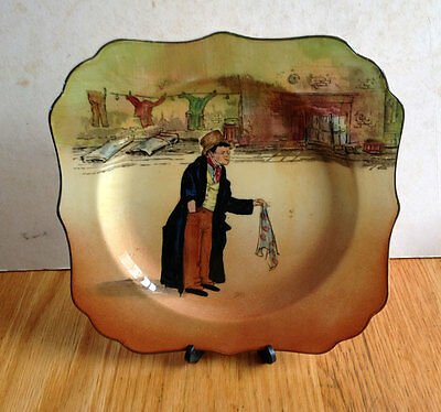 Vintage Royal Doulton Dickensware Plate - The Artful Dodger