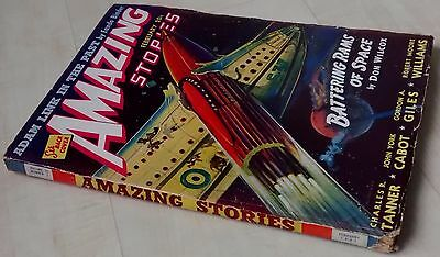 Amazing Stories vintage pulp fiction comic Feb 1941 vol 15 no 2