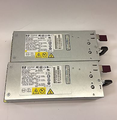 Lot of 2 HP DPS-800GB A 1000W Power Supplies Series HSTNS-PD05 P/N: 379123-001