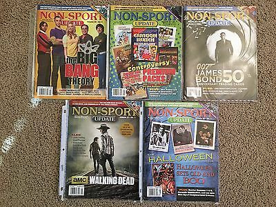Non-Sport Update Magazine - Lot of 5 - Great Condition