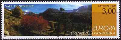 Andorra French 1999 SG F552  Sc 506 MNH Europa National Parks combined postage