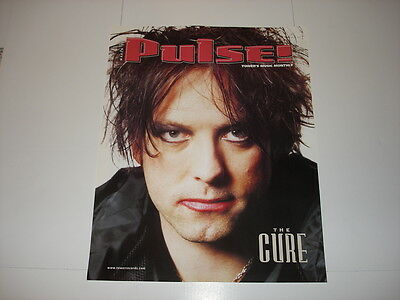 THE CURE Robert Smith promo poster LOT of 2 rare Wish 1992 Pulse magazine 2000