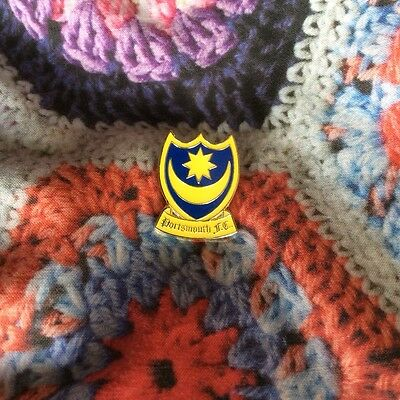Traditional Portsmouth fc metal badge