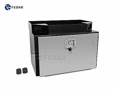 "Fedar Heavy Duty Underbody Truck and Trailer Tool Box with Tray 30"" x 18"" x 18"""