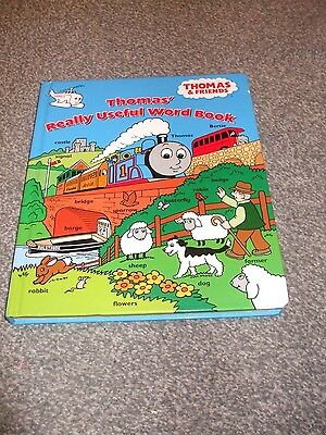 Thomas The Tank Engine Word Book