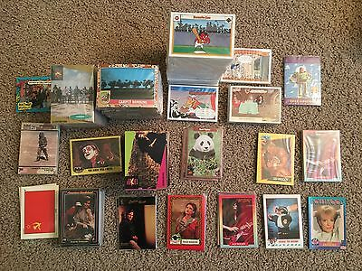 Large Lot of Non-Sports Cards - 1000+ Singles - Very Good