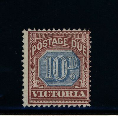 Australia State Stamp - Victoria - 8d POSTAGE DUE - MNG