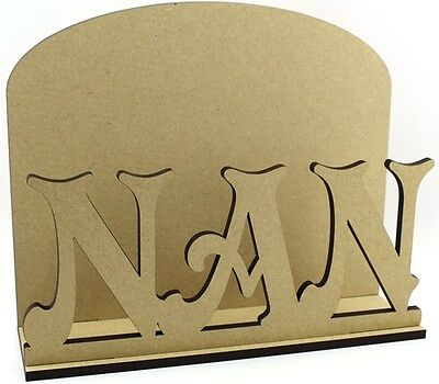 Nan Letter Mail Post Rack - Laser cut 6mm MDF - Mother's Day Gift Idea