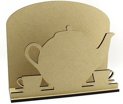 Teapot Letter Mail Post Rack - Laser cut 6mm MDF - Mother's Day Gift Idea