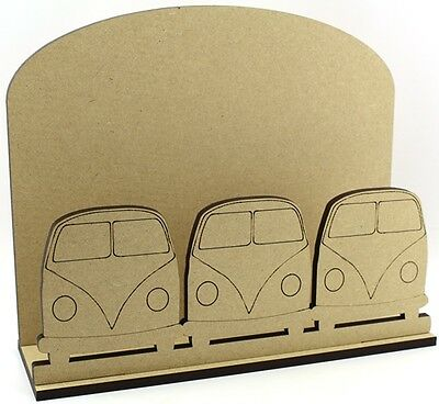 Campervan Letter Mail Post Rack MDF Dad Daddy Brother Birthday Gift Idea