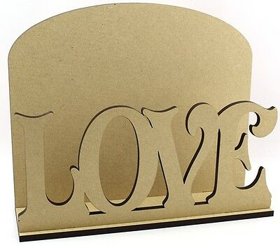 Love Letter Mail Post Rack MDF Wedding Valentines Engagement Present Gift Idea