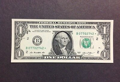 Star Note 2013 $1 Uncirculated